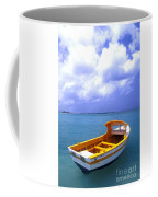 Aruba. Fishing Boat Coffee Mug by Anonymous