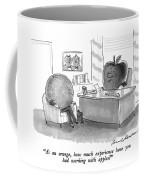 As An Orange Coffee Mug