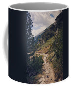 As Far As My Feet Will Carry Me Coffee Mug by Thomas Richter