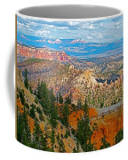 As Far As The Eye Can See From Farview Point In Bryce Canyon-utah   Coffee Mug
