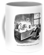 As Soon As One Problem Is Solved Coffee Mug by Frank Cotham
