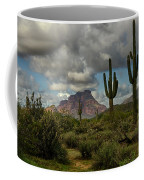 As The Clouds Pass By  Coffee Mug