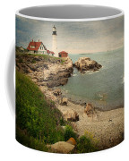 As The House Looks Over Coffee Mug