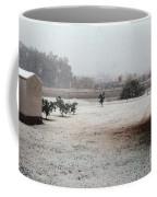 As The Snow Falls Coffee Mug