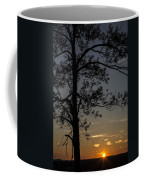As The Sun Fades Behind The Mountian Coffee Mug