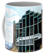 Asbury Park Casino - My City In Ruins Coffee Mug by Bill Cannon