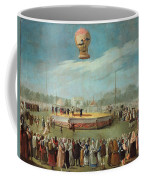 Ascent Of A Balloon In The Presence Of The Court Of Charles Iv Coffee Mug
