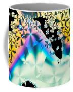 Ascorbic Acid Crystals In Polarized Light Coffee Mug