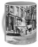Ash Cart New York City 1896 Coffee Mug by Unknown