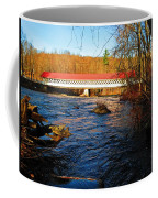 Ashuelot Covered Bridge Scene Coffee Mug