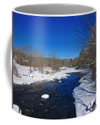 Ashuelot River In Winter Coffee Mug