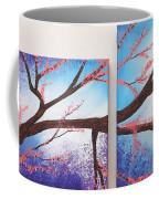 Asian Bloom Triptych 1 2 Coffee Mug