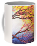 Asian Bloom Triptych 3 Coffee Mug