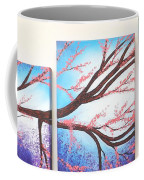 Asian Bloom Triptych Coffee Mug