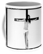 Asian Crucifix Highlight Coffee Mug
