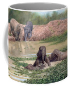Asian Elephants - In Support Of Boon Lott's Elephant Sanctuary Coffee Mug