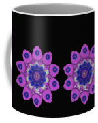 Asian Purple Orchids Coffee Mug