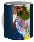 Asian Umbrellas Coffee Mug