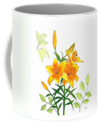Asiatic Hybrid Lily Coffee Mug