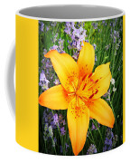Asiatic With Lavender  Coffee Mug