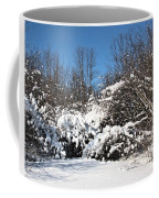 Asleep Under The Snow Coffee Mug