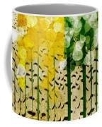 Aspen Colorado 4 Seasons Abstract Coffee Mug