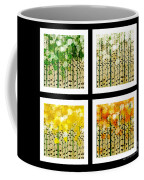 Aspen Colorado Abstract Square 4 In 1 Collection Coffee Mug
