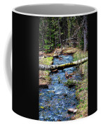 Aspen Crossing Mountain Stream Coffee Mug