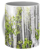 Aspen Grove Coffee Mug by Elena Elisseeva