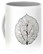 Aspen Leaf Skeleton 1 Coffee Mug