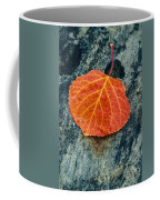 Aspen Leaf  Coffee Mug