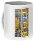 Aspen Tree Magic Cottonwood Pass White Window Portrait View Coffee Mug by James BO  Insogna