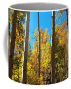 Aspen Trees In Fall Coffee Mug