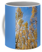 Aspen Trees In The Fall Coffee Mug