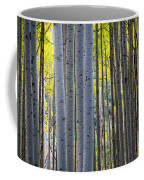 Aspen Trunks Coffee Mug by Inge Johnsson