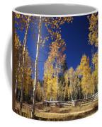 Aspens In Fall Coffee Mug