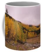 Aspens In The Mist Coffee Mug