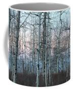Aspens In Twilight Coffee Mug