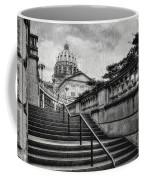 Aspirations In Black And White Coffee Mug