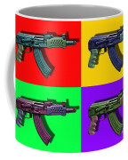 Assault Rifle Pop Art Four - 20130120 Coffee Mug