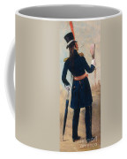 Assiniboine Warrior In Regimental Coffee Mug