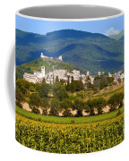 Assisi From The Sunflower Fields Coffee Mug