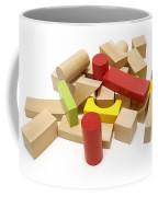 Assorted Building Blocks Coffee Mug