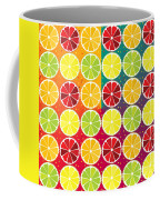 Assorted Citrus Pattern Coffee Mug