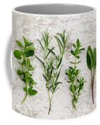 Assorted Fresh Herbs Coffee Mug