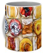 Assorted Tarts And Pastries Coffee Mug