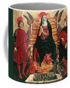 Assumption Of Mary With Sts Minias And Julian Coffee Mug