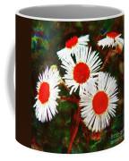Asters Bright And Bold Coffee Mug