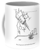 At A Dentist's Office Coffee Mug