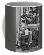 At His Office - Grandpa Elliott Small Bw Coffee Mug